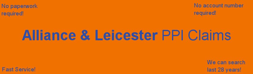 Alliance and leicester PPI