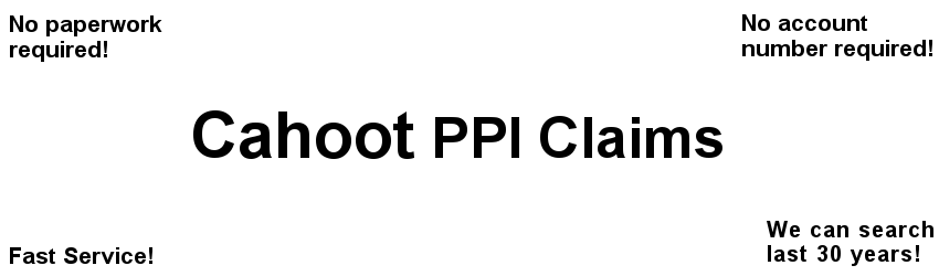 Cahoot PPI Claims