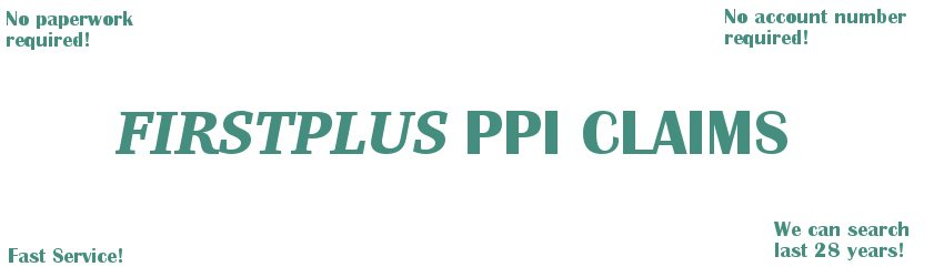 FIRSTPLUS PPI