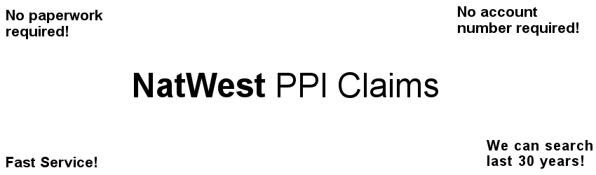NatWest PPI Claim Experts free PPI check & no paperwork ...